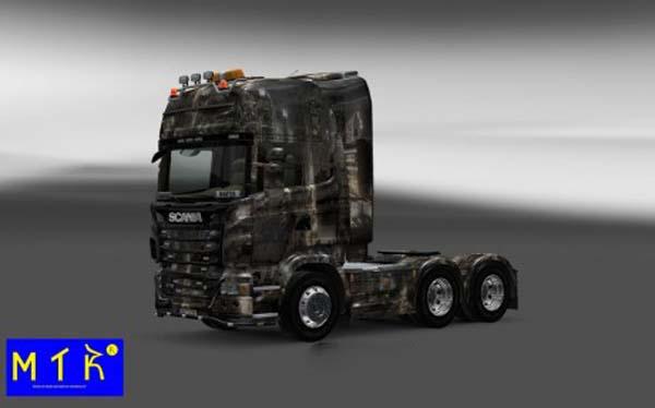 Scania City Scene Skin