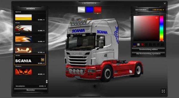Scania Colorful Skin