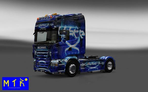 Scania Dub Step Skin