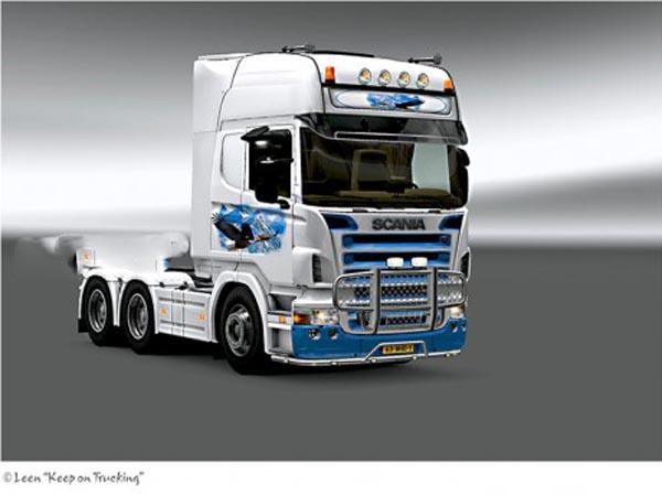 Scania Eagle skin