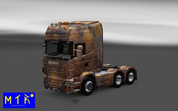 Scania Ferrugem Skin
