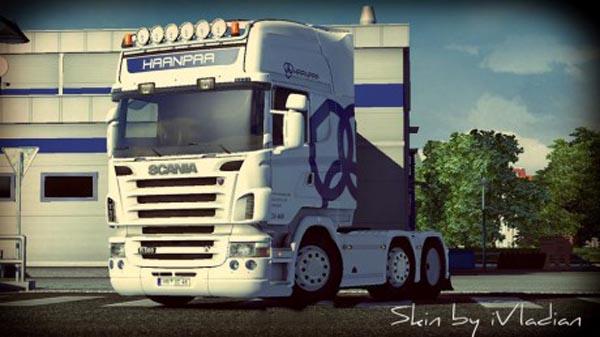 Scania Haanpaa Logistics Skin