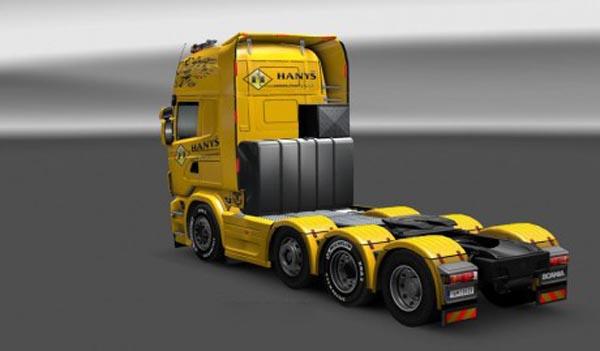 Scania Heavy Transport Hanys Skin