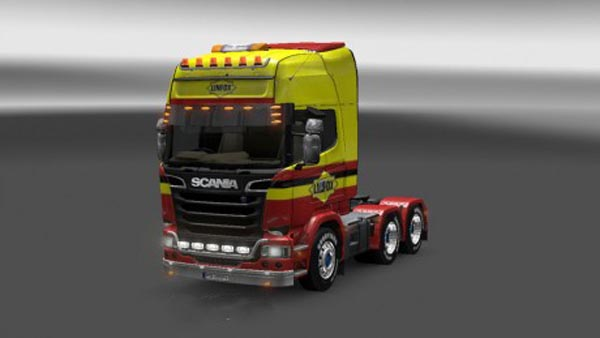 Scania Linfox Skin