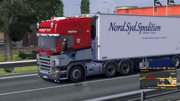 Scania N.C Christensen & Sonner Skin