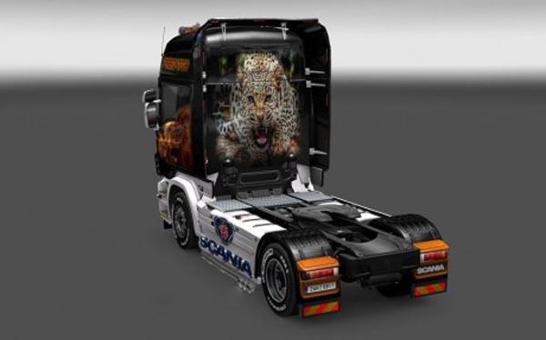 Scania Predator Skin
