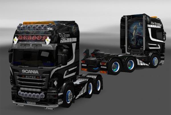 Scania R skin Dragon