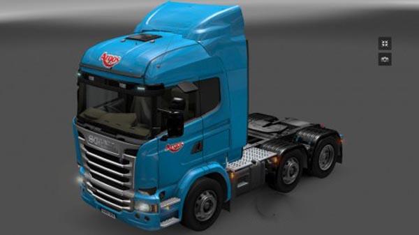 Scania Streamline Argos Skin