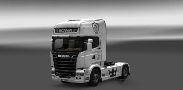 Scania Streamline Paintable