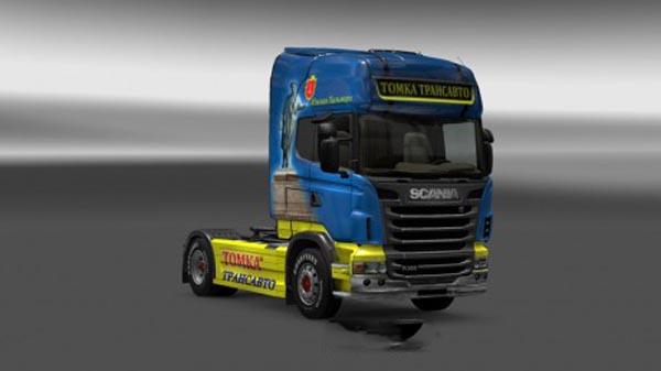 Scania Tomka Skin