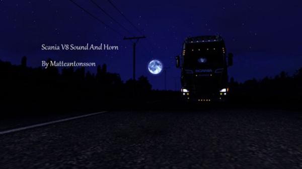 Scania V8 Sound and Horn