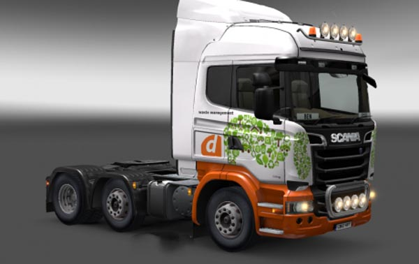 Scania Waste Management Skin