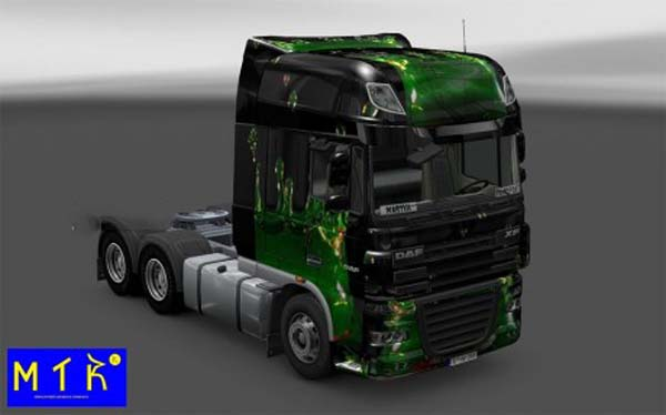 Skin DAF XF ArtWorks