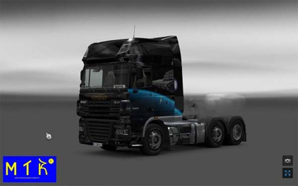 Skin DAF XF Star Destroyer
