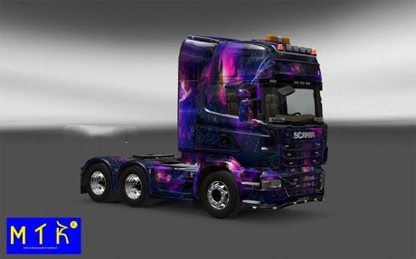 Skin Scania Desktop oGrafhic