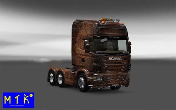 Skin Scania Ferrugem