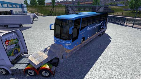 Trailer with Onibus