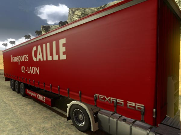 Transports Caille Trailer Skin