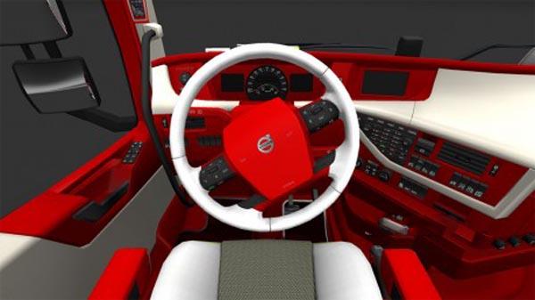Volvo 2013 Red interior