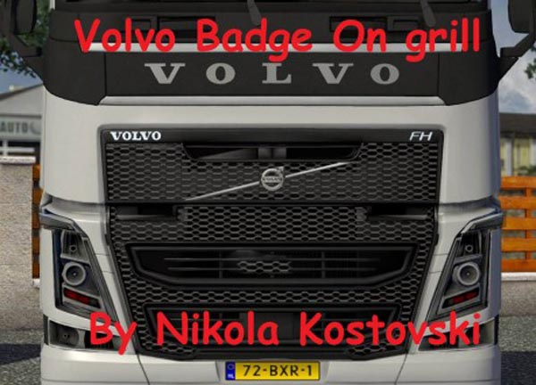 Volvo Badge on Grill