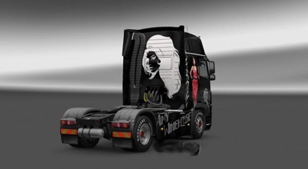 Volvo FH 2009 Amy Winehouse Skin