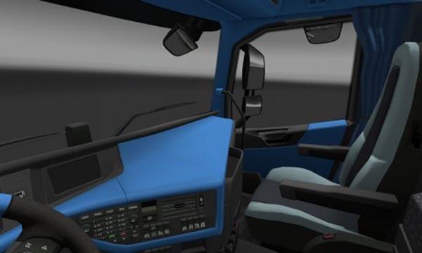 Volvo FH 2012 Blue Interior
