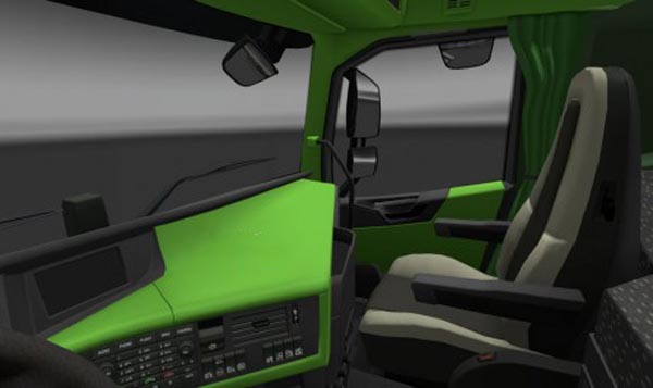 Volvo FH 2012 Green Interior
