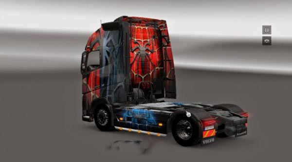 Volvo FH 2012 Spiderman Skin