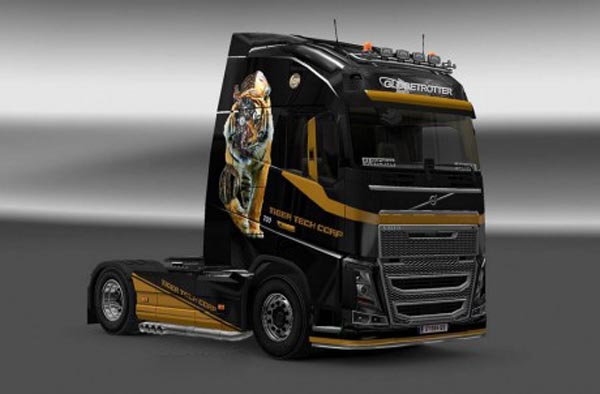 Volvo FH 2012 Tiger Tech Skin