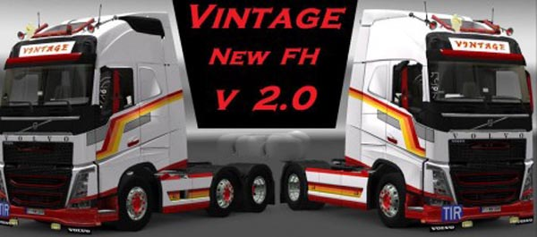 Volvo FH 2012 Vintage Style Skin
