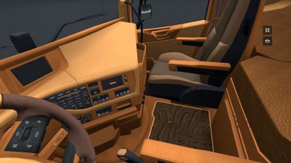 Volvo FH 2012 Wood and Leather Interior