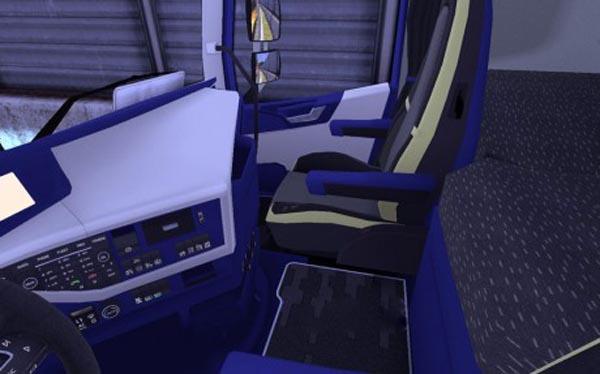 Volvo FH16 2012 Blue White Interior