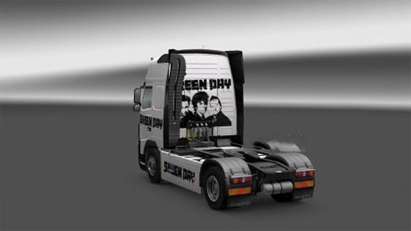 Volvo Green Day skin
