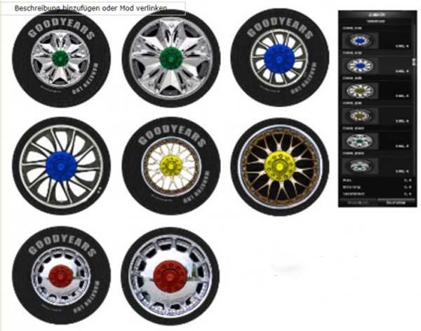 Wheels for all Trucks