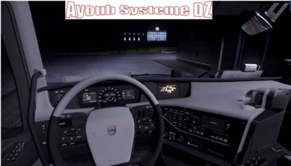 White Volvo 2013 interior