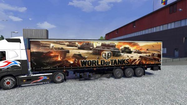World of Tanks Trailer Skin