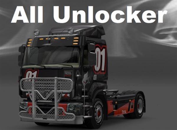All Unlocker Mod – Unlocks all Parts