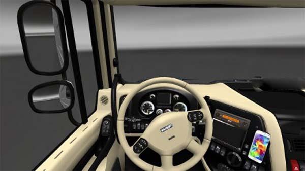 DAF B&B (Black & Beige) interior