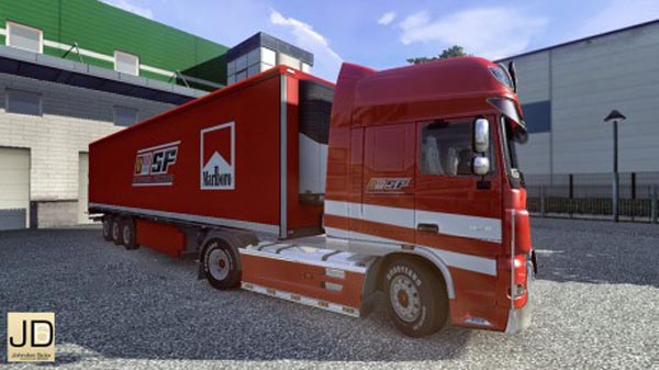 DAF Ferrari – Truck and Trailer