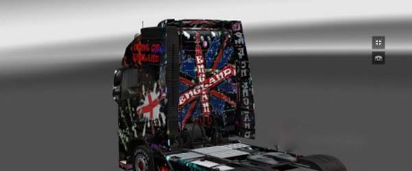 England skin for Volvo