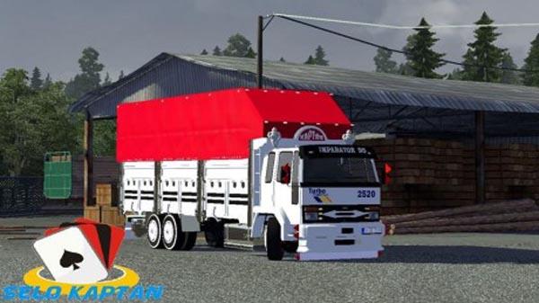 Ford Cargo 2520 3axe truck