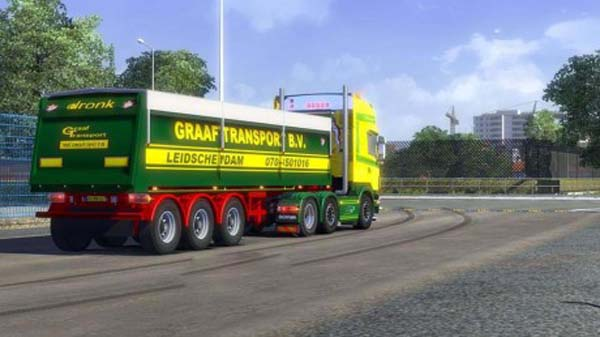 Graaf Transport B.V. Leidschendam Trailer