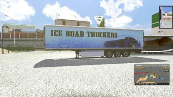 Ice Road Truckers Trailer Skin
