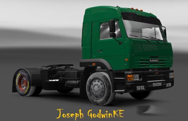 Kamaz 5460 ZF Tuning