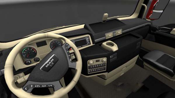 MAN Black Beige Interior