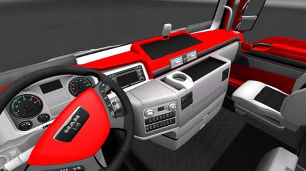 MAN Red Interior