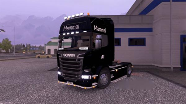 Mammal Logistics Truck and Trailer