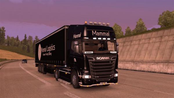 Mammal Logistics Truck and Trailer