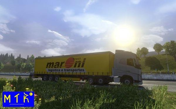 Maroni Transportes Trailer Skin