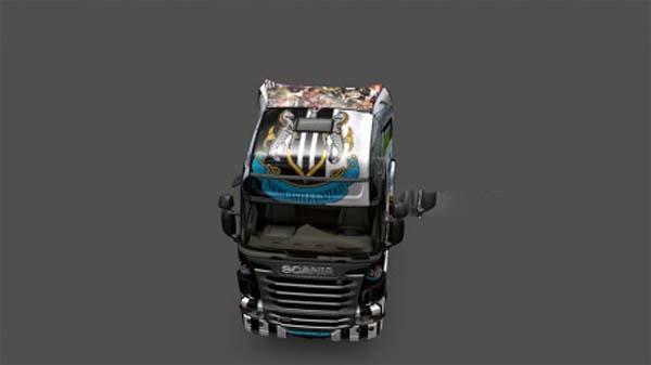 Newcastle United Scania R
